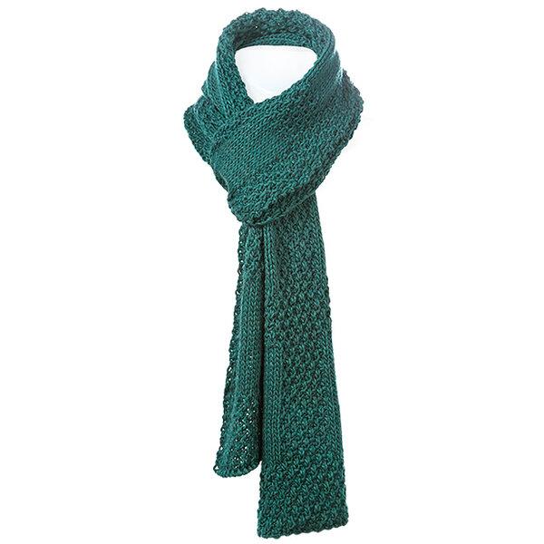 Едноцветен плетен шал Criss 673013