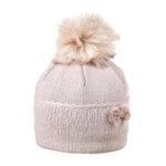 Зимна шапка с помпон и панделка 634008