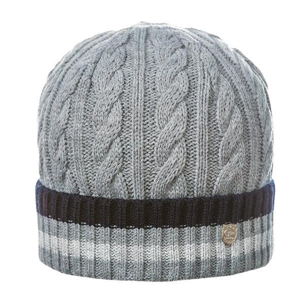 Зимна шапка с плетеници 670014