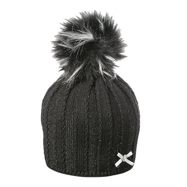 Зимна шапка с помпон Criss 630036