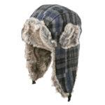 Вълнена шапка ушанка 670207