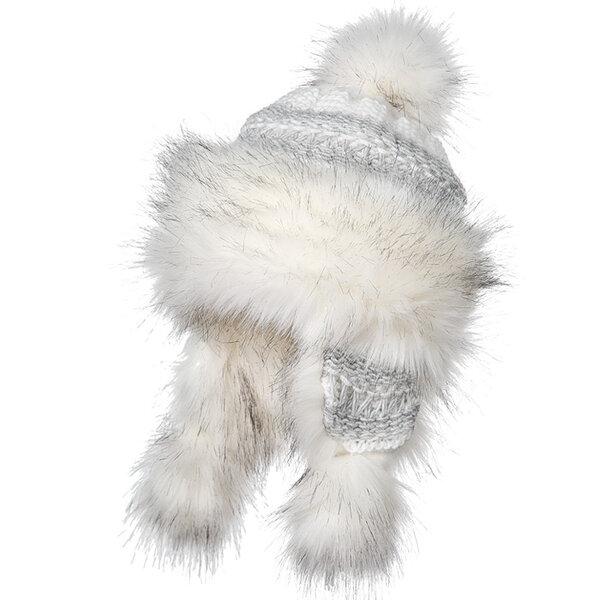 Топла дамска шапка плетиво Criss 670076