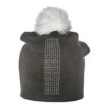 Зимна шапка с камъни 670007