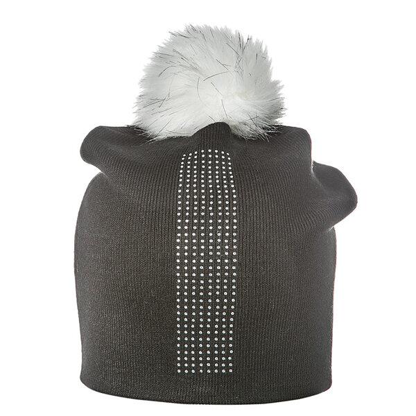 Зимна шапка с камъни Criss 670007
