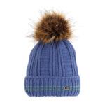 Зимна детска шапка с подгъване 634022