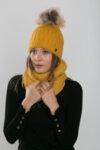 Дамски шал за зимата Criss 633000