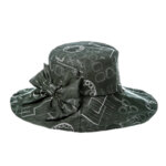 Лятна шапка капела от лен  770034