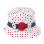 Лятна шапка с мека периферия за момиче 774051