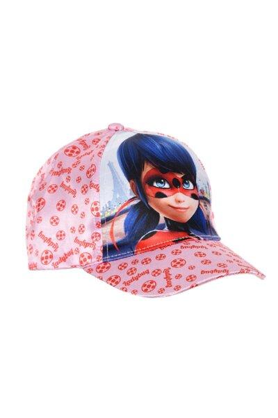 Детска шапка с козирка от сатен за момиче 75204152