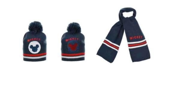 Зимен комплект за бебе шапка и шал Mickey 65184332
