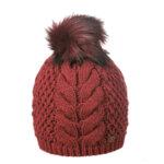 Зимна шапка с помпон Criss 670033