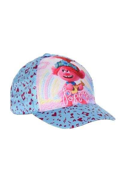 Лятна детска шапка сатен Trolls 75204259
