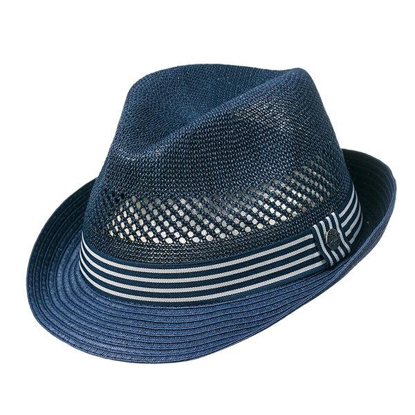 Мъжка шапка лятно синьо бомбе 742101
