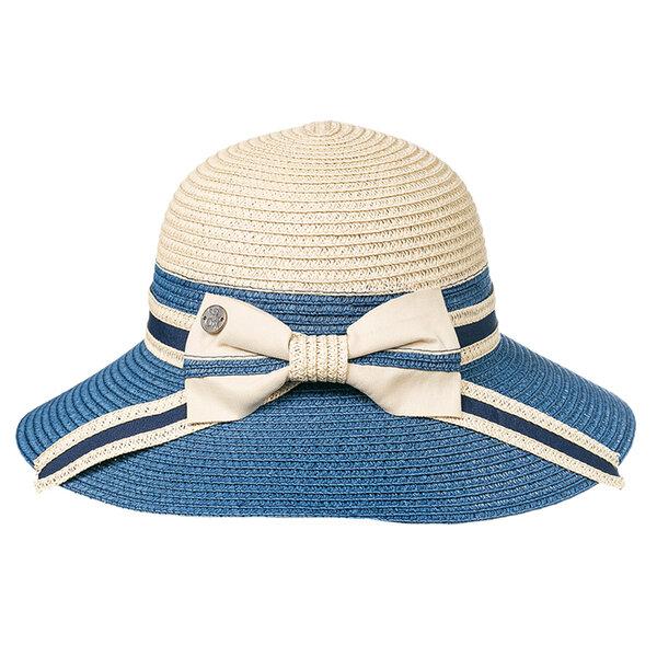 Модерна дамска лятна шапка с панделка 742116
