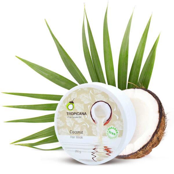 Маска за коса с кокосово масло 250 g