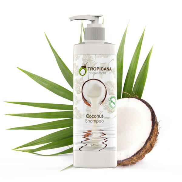 Шампоан за коса с кокосово масло 240 ml