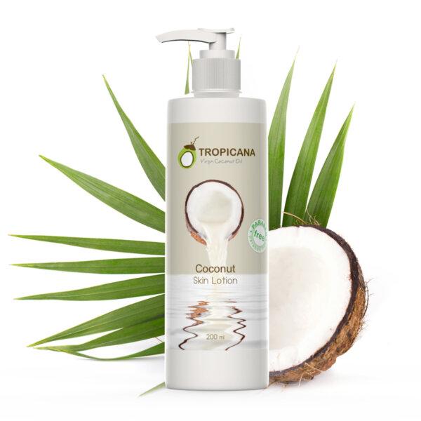 Лосион за тяло с кокосово масло 200 ml
