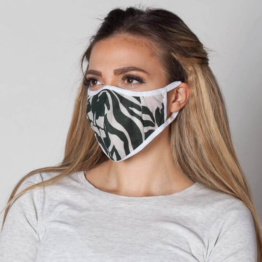 Маска с филтър със сребърни йони. Текстил в модерен милитъри десен. Лесна за поддържане многократна маска със специален джоб за сменяеми филтри. Поръчай маски с филтър онлайн от ProMask.