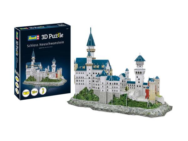 Замъкът Нойшванщайн- Пъзел 3D