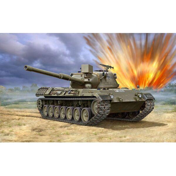 Танк Леопард- сглобяем модел