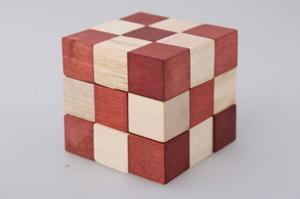 Логическа игра Кубче змия