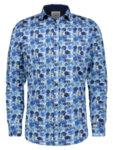 Риза Чадъри в Синьо