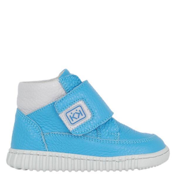 Светло сини бебешки боти КК