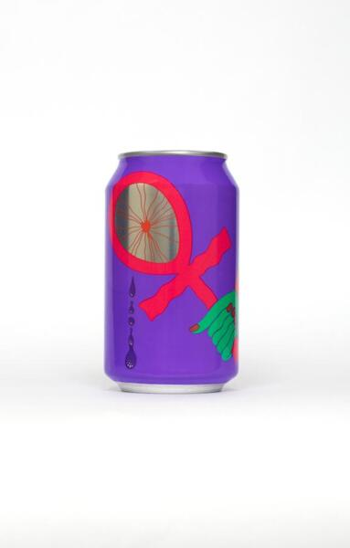 Omnipollo x The Veil Tefnut Blueberry Vanilla Imperial Gose 11%