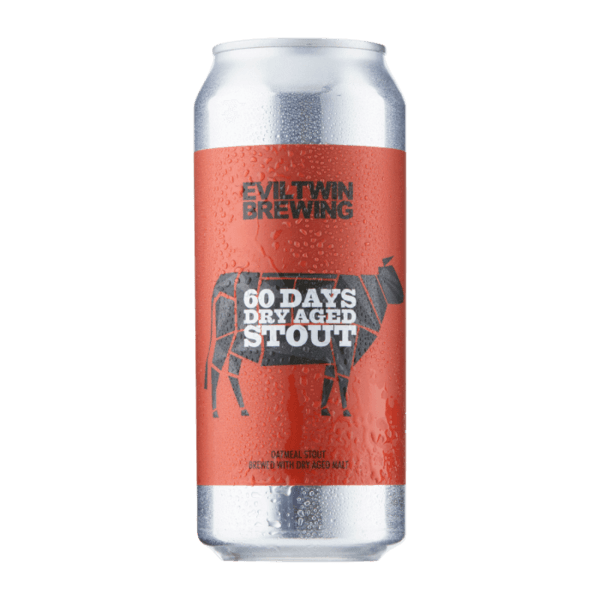 Evil Twin 60 Days Dry Aged Stout 6%