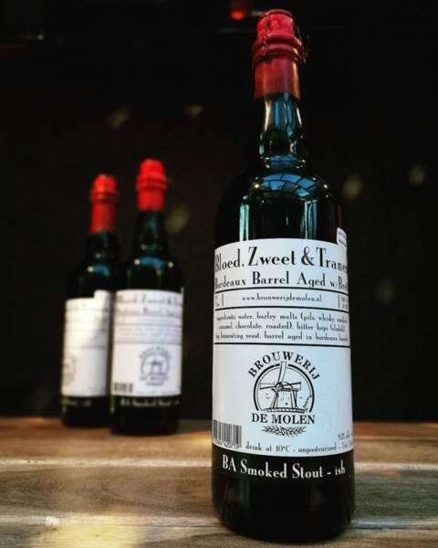 De Molen Bloed, Zweet & Tranen Bordeaux Barrel Aged 75cl