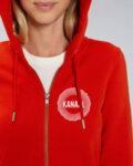 KANAAL Circle Hoodie - дамско-Copy