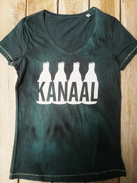 Тениска KANAAL лого бутилки - дамска