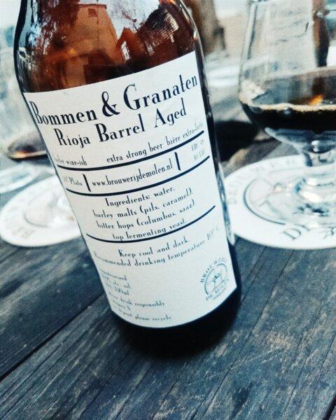 De Molen Bommen & Granaten Rioja Barrel Aged
