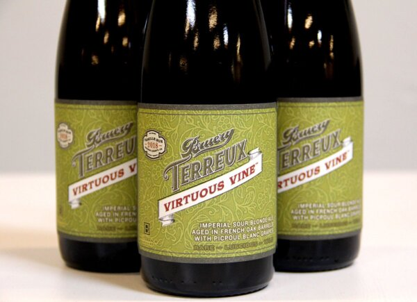 The Bruery Terreux Virtuous Vine 2018