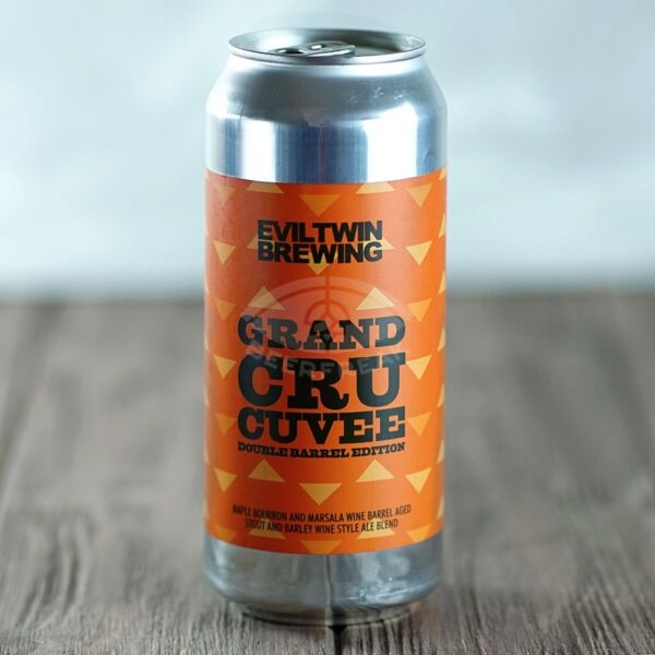 Evil Twin Grand Cru Cuvee (Double Barrel Edition) Maple Bourbon & Marsala Wine Barrel Aged Stout & Barley Wine 12.5%