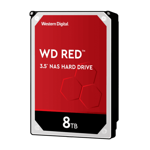 WD HDD 8TB RED WD80EFAX