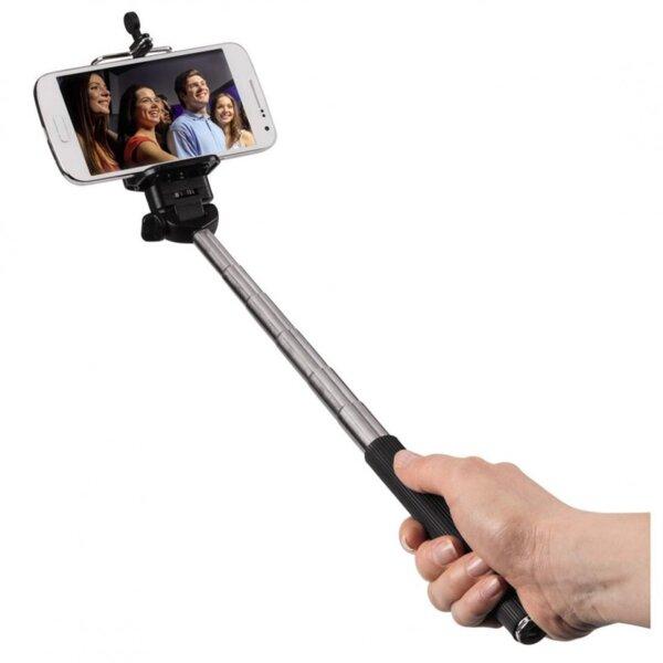 Монопод за смартфон/камера - селфи HAMA Moments 100 04281, Метал