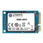 SSD KINGSTON KC600, 256GB, mSATA