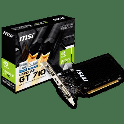 MSI GT 710, 2GB DDR3