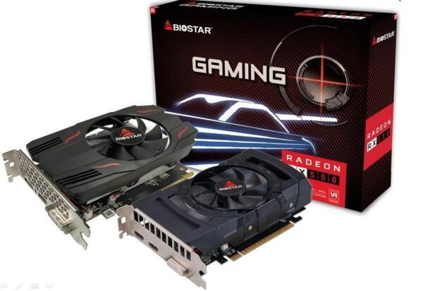 Biostar RX550 4GB DDR5