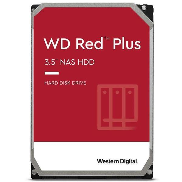 WD HDD 6TB Red Plus WD60EFZX