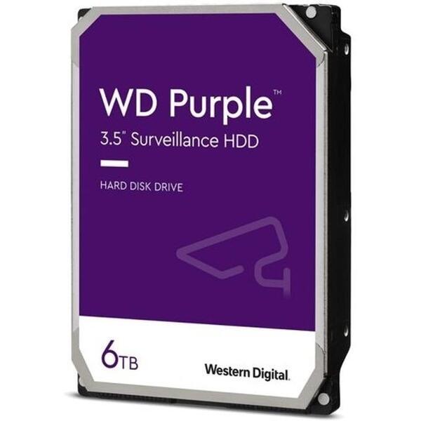 WD HDD 6TB Purple WD62PURZ