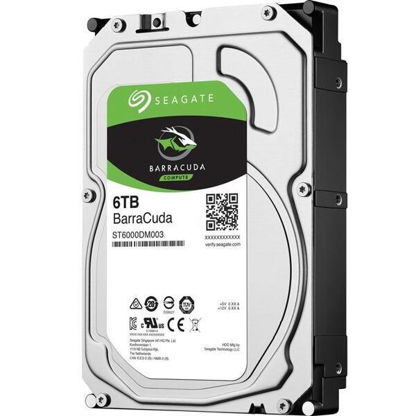 SEAGATE HDD 6TB BarraCuda ST6000DM003