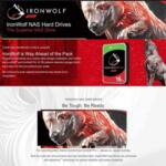 SEAGATE HDD 6TB Iron Wolf ST6000VN001