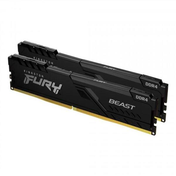 Kingston FURY Beast Black 8GB(2x4GB) DDR4 2666MHz CL16