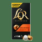 L'or Espresso DELIZIOSO - 10 бр. Nespresso® съвместими капсули