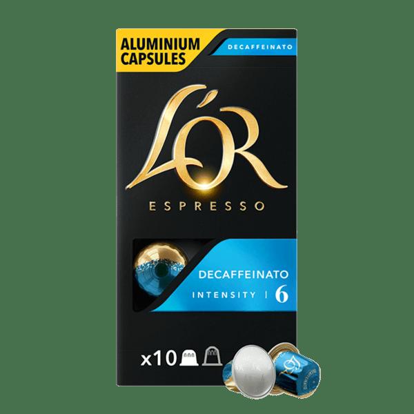 L'or DECAFFEINATO - 10 бр. Nespresso® съвместими капсули
