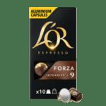 L'or Espresso FORZA - 10бр. Nespresso® съвместими капсули