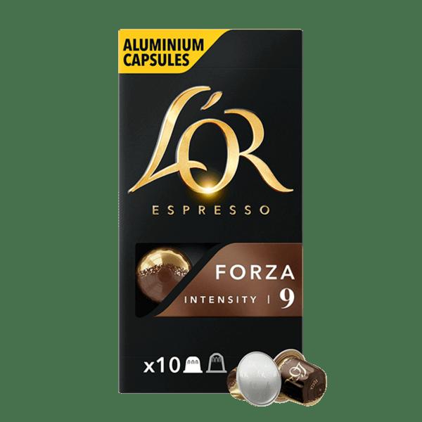 L'or Espresso FORZA - 10 бр. Nespresso® съвместими капсули