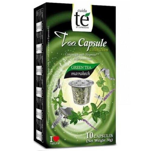Cuida Té Marakech зелен чай - 10бр. Nespresso® съвместими капсули